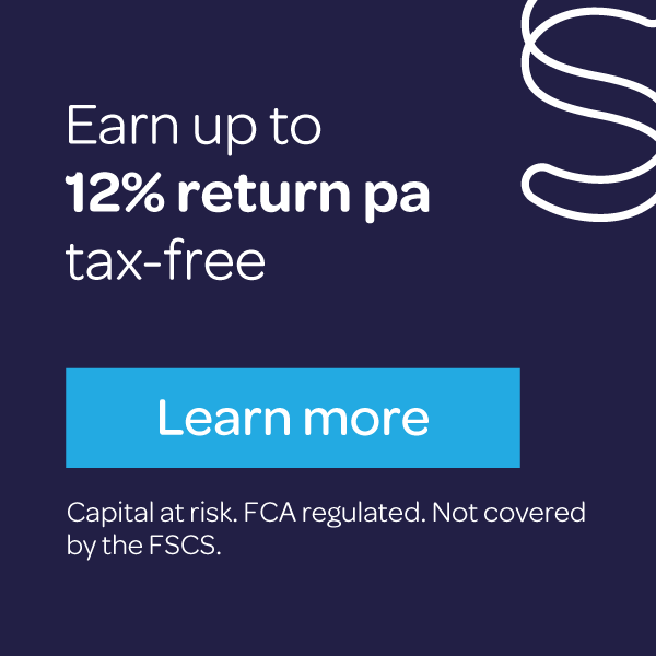 Earn up to 12% return pa tax-free