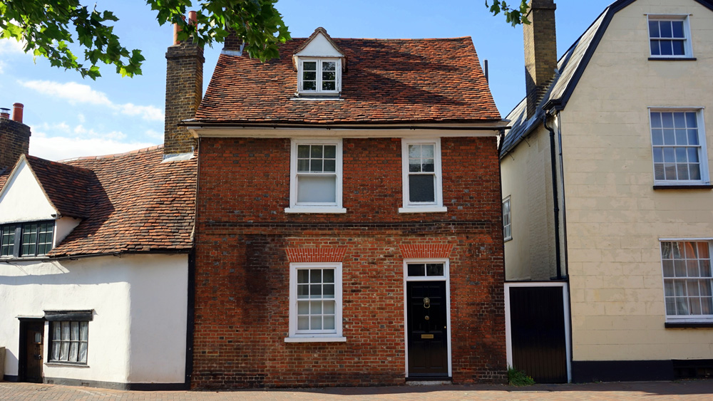 Property house red brick