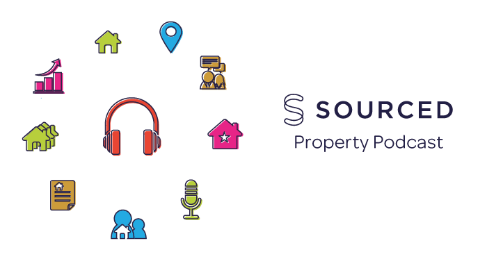 The Sourced Property Podcast Banner