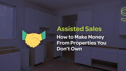 Assisted sales webinar video thumbnail