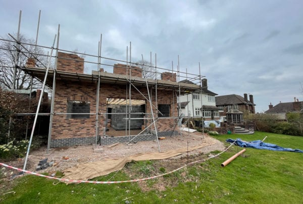 Site in Stoke, new build development